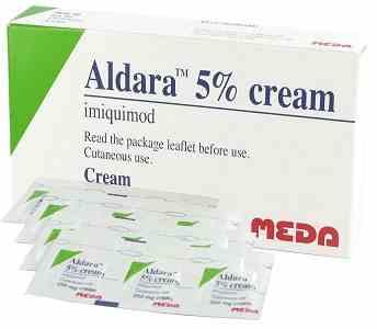 کرم آلدرا 5 درصد