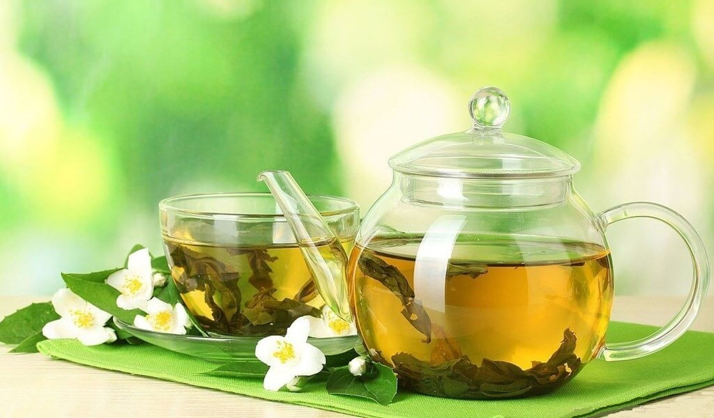 چای سبز برای از بین بردن زگیل تناسلی بارداری