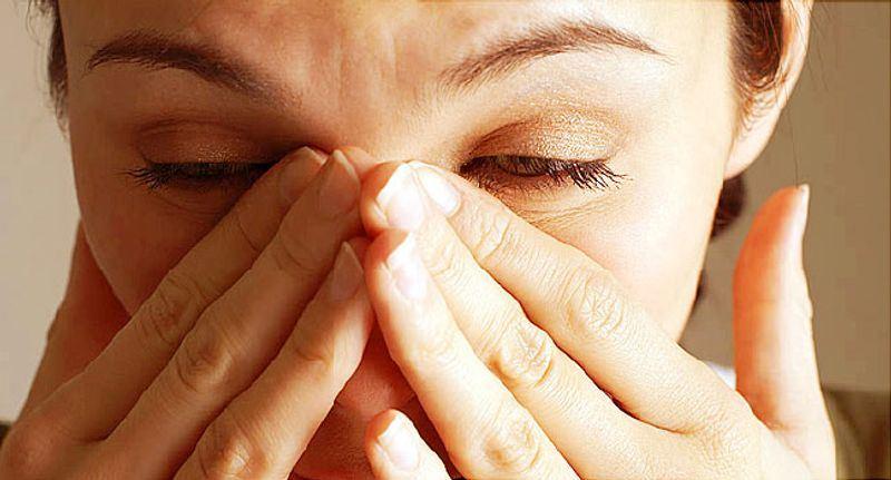درمان خانگی جوش بینی